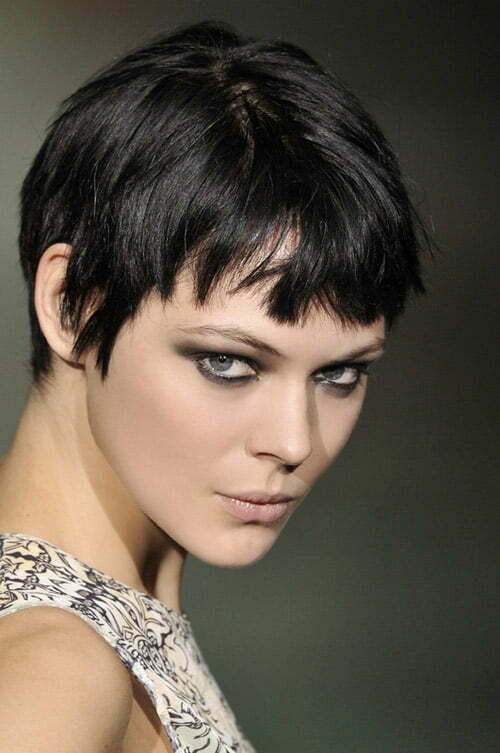 Fall/Winter 2012 short hair trends