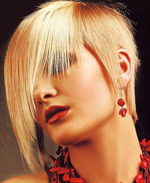 Blonde hair with bangs 2013
