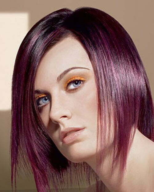 Short straight hairstyles for women 2013