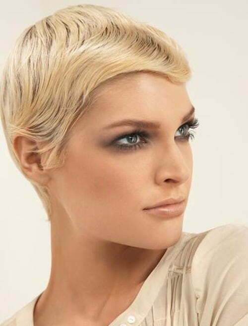 Trendy short pixie haircuts summer 2012