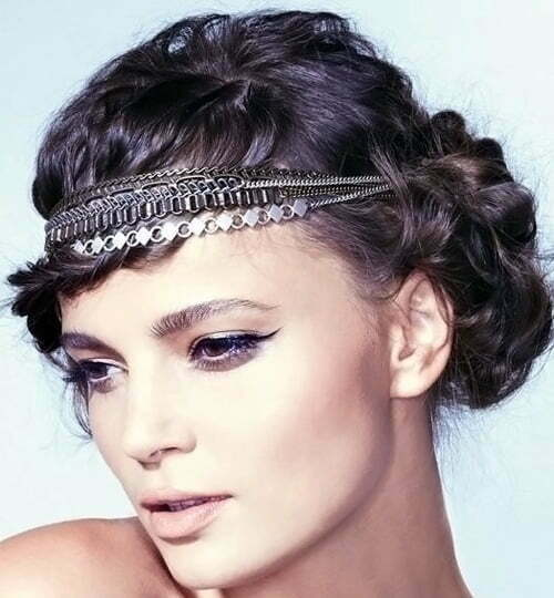 Pleasant Vintage Wedding Hairstyles Short Hairstyles 2016 2017 Most Short Hairstyles For Black Women Fulllsitofus