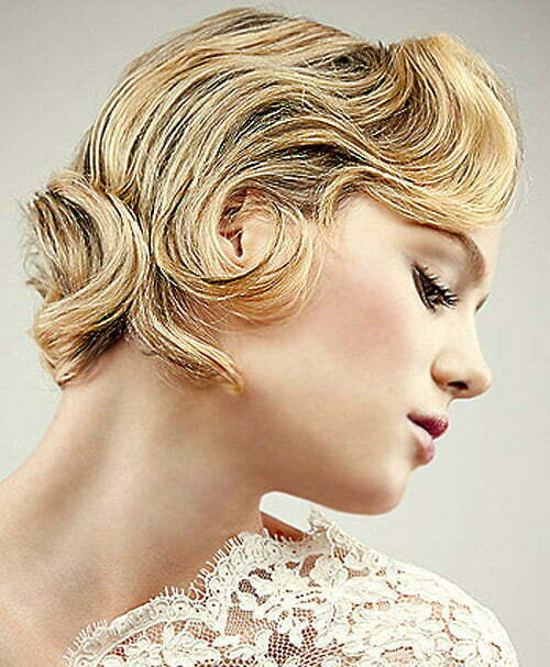 Wedding hairstyles for short blonde hair 2013