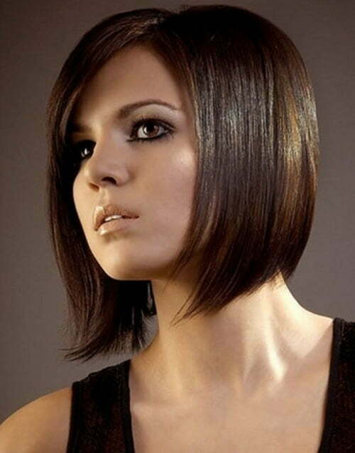 Short Straight Haircut for Women Short