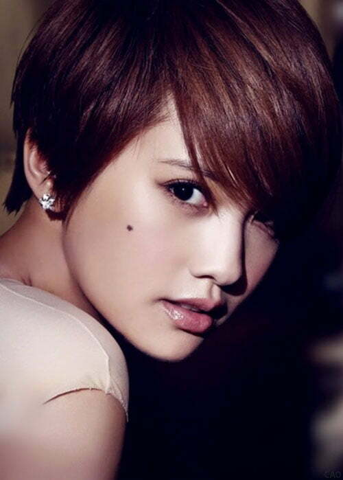 Cute short asian hairstyles with bangs