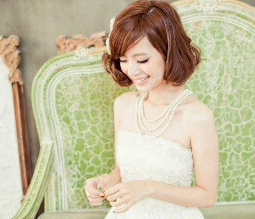 Asian bridal hair