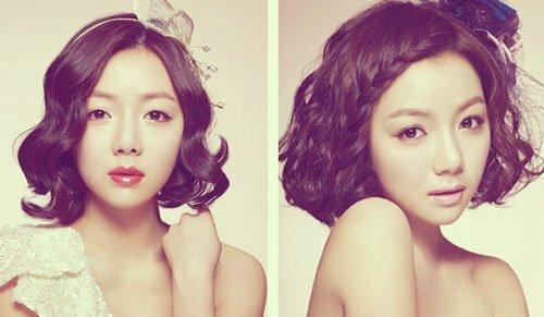 Asian wedding hairstyles short hair