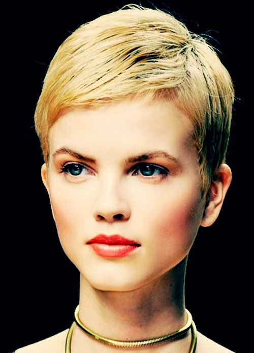 Girls the girls of today must try extra short pixie haircut it