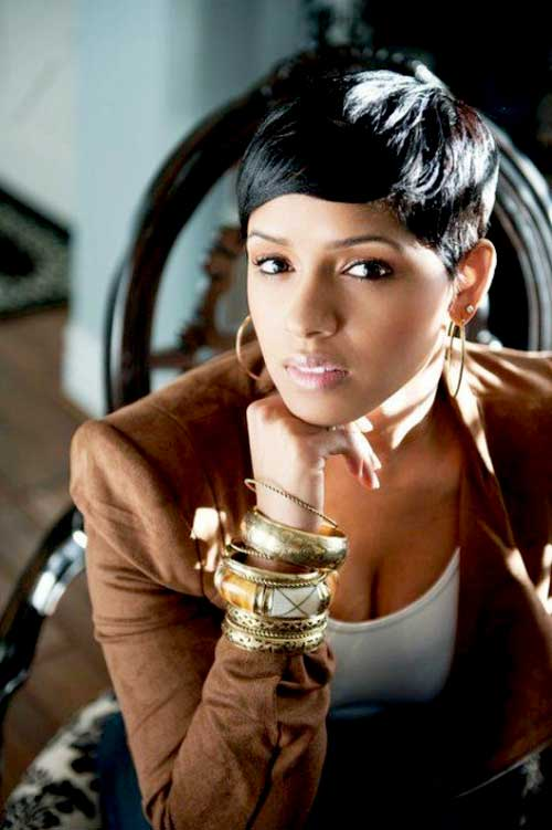 Black Women Short Hairstyles 2014