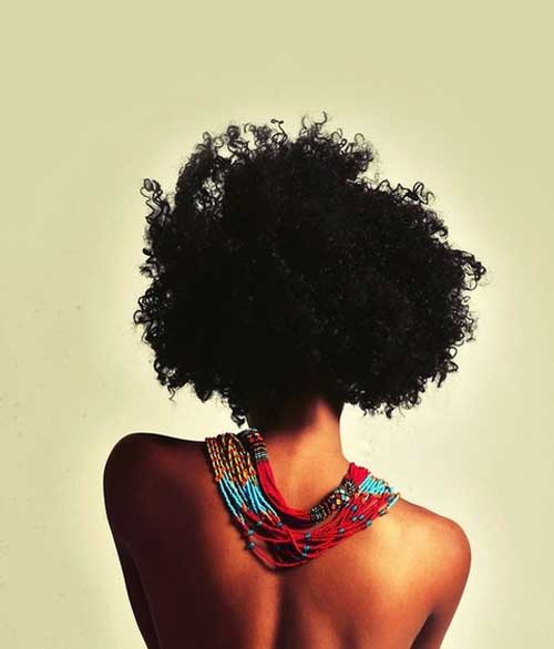Black curly hairstyles for black women