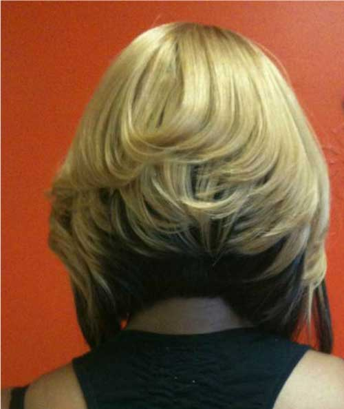 Bob haircut back view pictures