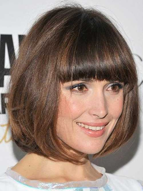 Women and girls with black hair can also try out the bob haircut ...