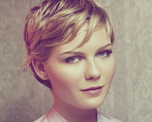Kirsten Dunst short hair pictues