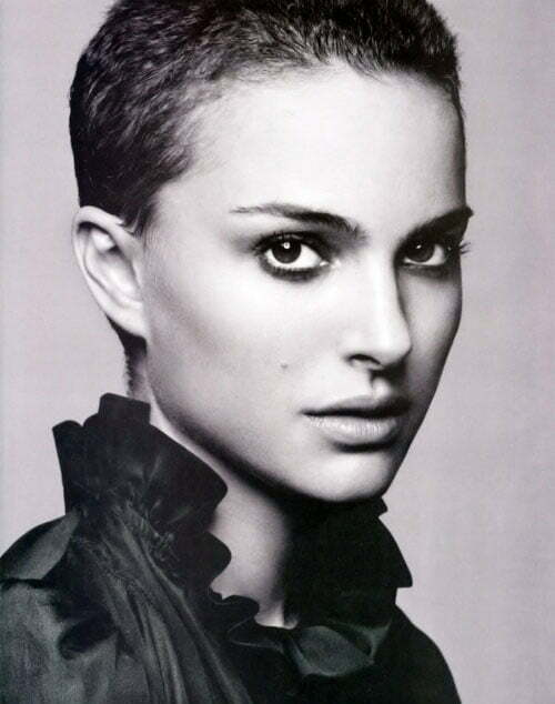 Natalie Portman pixie haircut pictures