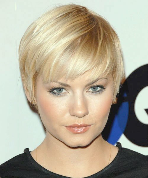 Elisha Cuthbert very short hair