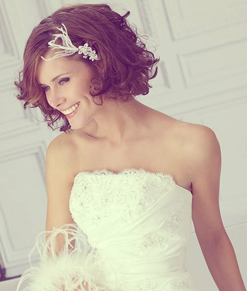 Most Popular Wedding Hairstyles: 10 Best Short Wedding Hairstyles