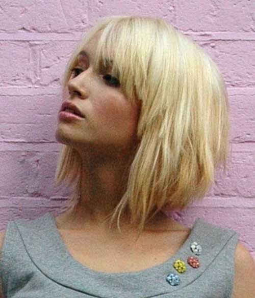 Magnificent Short Bob Hairstyles For Women Short Hairstyles 2016 2017 Hairstyles For Women Draintrainus