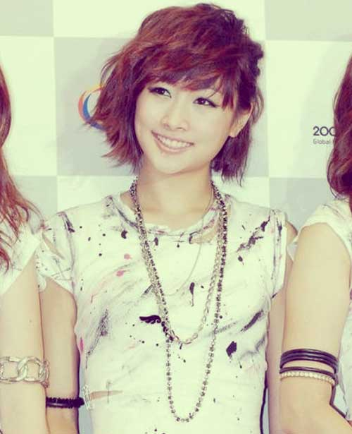 Cute short haircuts for asian women