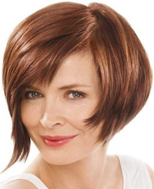 Hairstyles are short layered hair from the back of the bob hairstyle