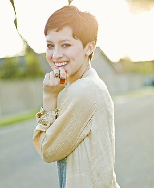 Cute pixie cuts for women