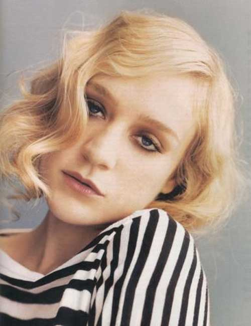 Chloe Sevigny short haircut