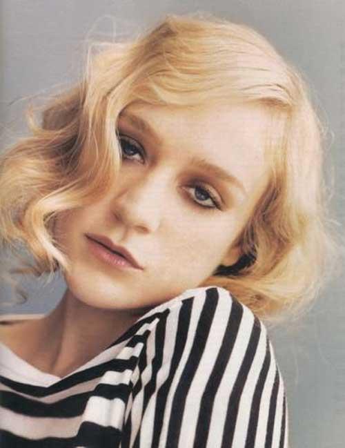Chloe Sevigny short haircut