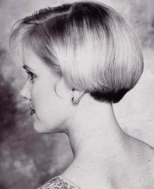 Side view of short haircuts for women