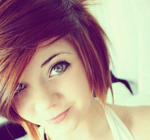 Astounding Cute Trendy Short Haircut Short Hairstyles 2016 2017 Most Hairstyles For Women Draintrainus