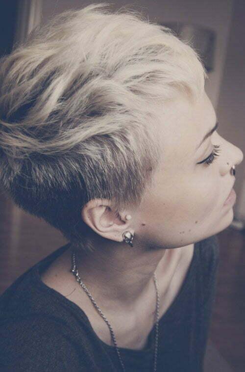 Fantastic Short Side Shaved Hair Short Hairstyles 2016 2017 Most Short Hairstyles For Black Women Fulllsitofus