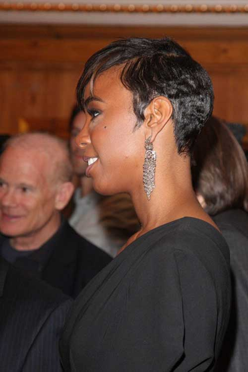 Short hairstyle for black women 2013