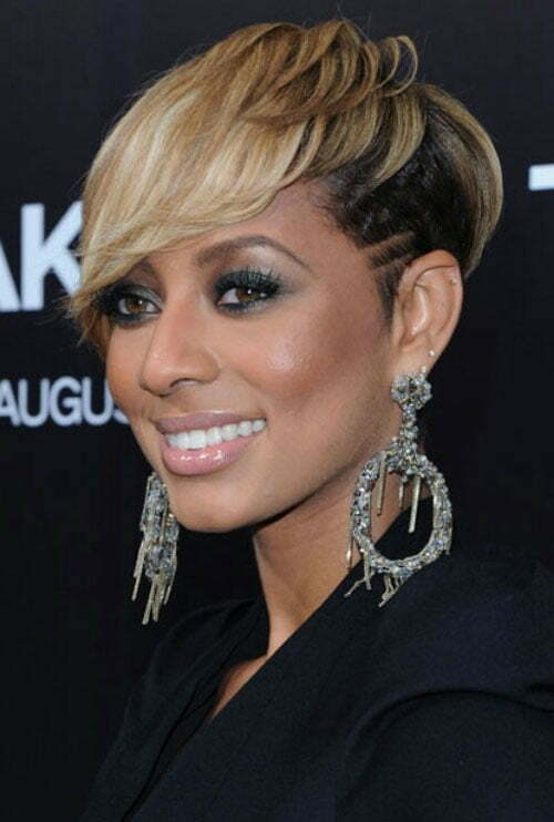 Black Women with Short Blonde Hairstyles