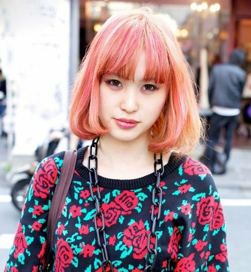Short hair color ideas pictures short hairstyles 2016 2017 most popular short hairstyles - Colors for girls ...
