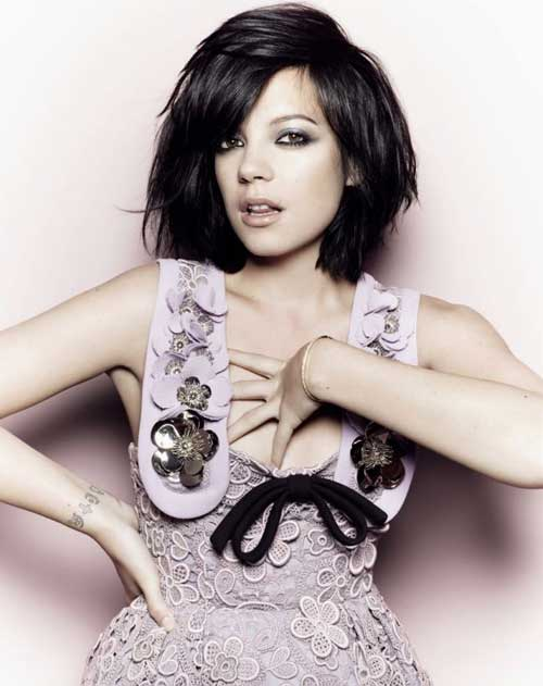 Short trendy celebrity haircuts