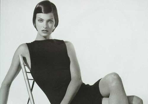 Linda Evangelista short hair photos