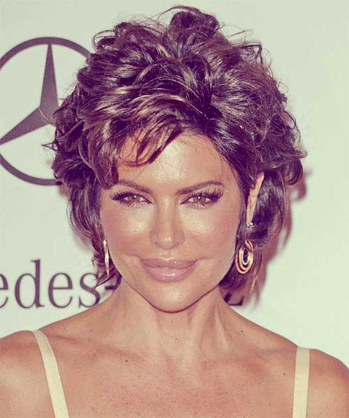 Casual short hairstyle for women