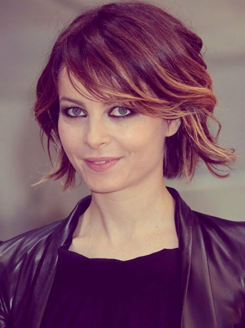 Short ombre hair color
