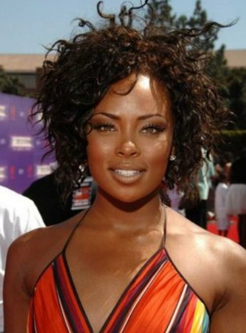 Pictures of short curly hairstyles for black women
