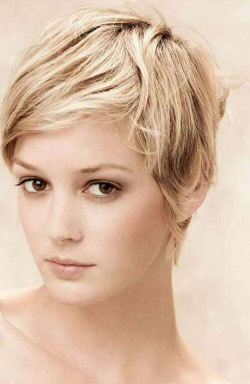 ... can try this tousled pixie haircut. It will give them a mature look