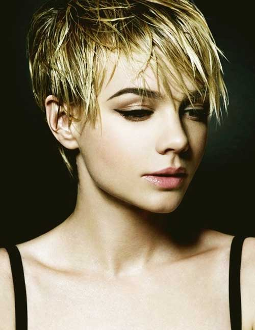 Short messy pixie haircuts
