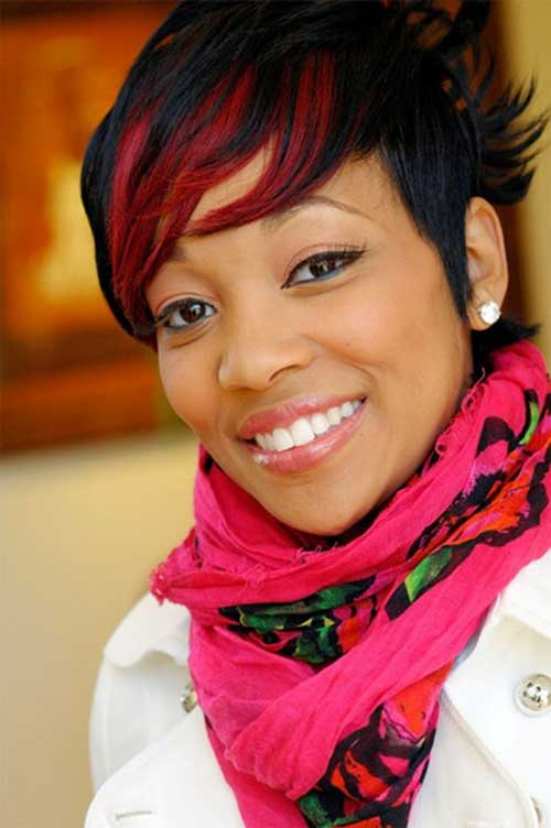 Red hair colour for black women