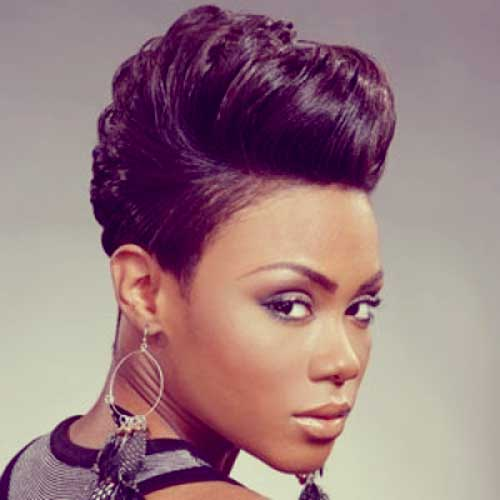 Short african american hairstyle pictures