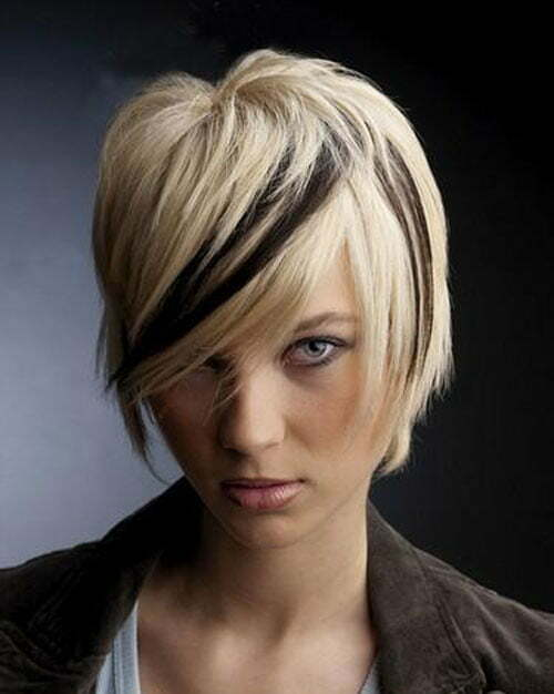 Awesome Short Hair Color Ideas Pictures Short Hairstyles 2016 2017 Hairstyle Inspiration Daily Dogsangcom