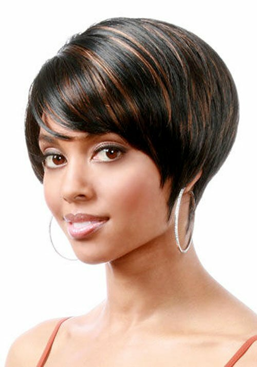 Pictures of cute short hairstyles for black women