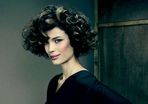 Short curly hairstyles for fall 2013