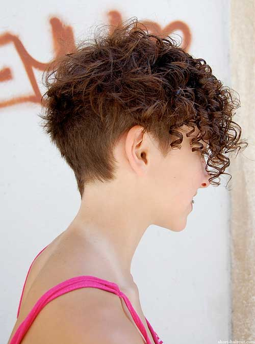 Admirable Short Curly Hairstyles For Women Short Hairstyles 2016 2017 Hairstyles For Women Draintrainus