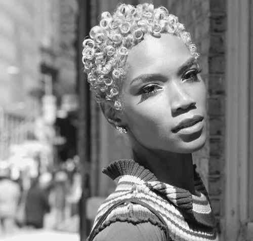 Short curly hairstyles for black women pictures
