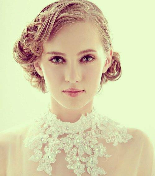 Sensational 15 Best Bridal Wedding Hairstyles For Short Hair New Love Times Short Hairstyles For Black Women Fulllsitofus