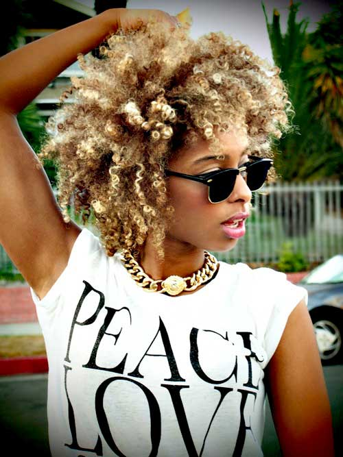 Short natural hairstyles for black girls