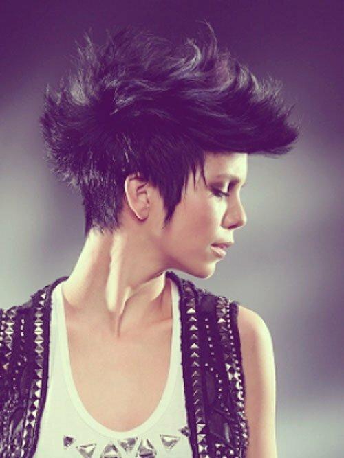 10 Mixed Short Hairstyles