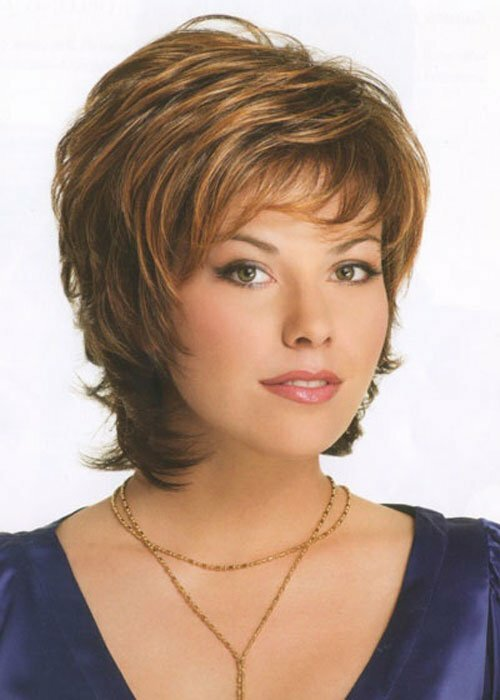 Short stacked hairstyles picture
