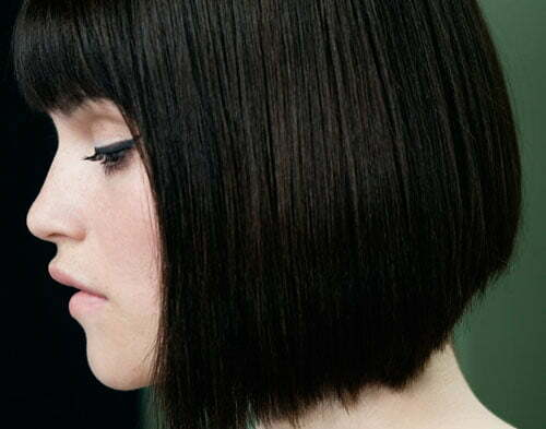 25 Short Straight Hairstyles 2012